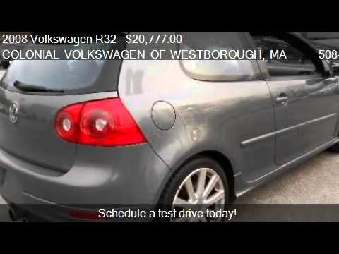 2008 Volkswagen R32 AWD - for sale in WESTBOROUGH, MA 01581