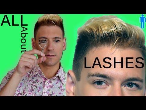 men s eyelashes why