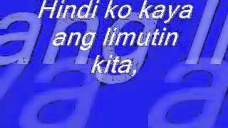 Hindi Ko Kaya   Josh Santana Lyrics,