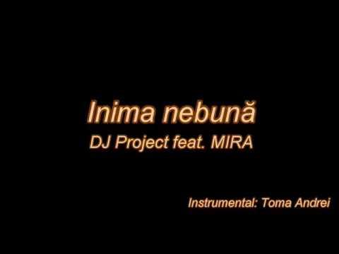 DJ Project feat. MIRA - Inima nebuna (karaoke)