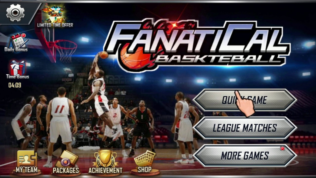 Fanaticle Basket ball game for Android