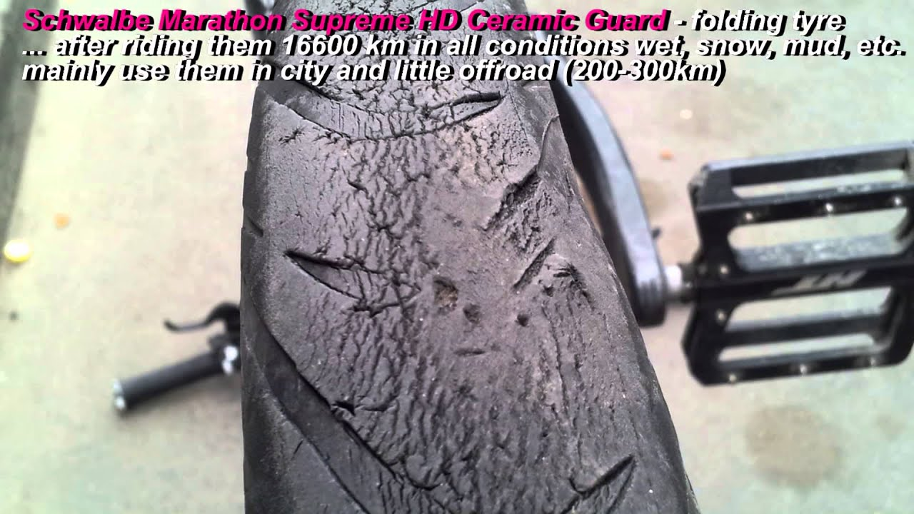 how to know when mtb tyre is worn oute
