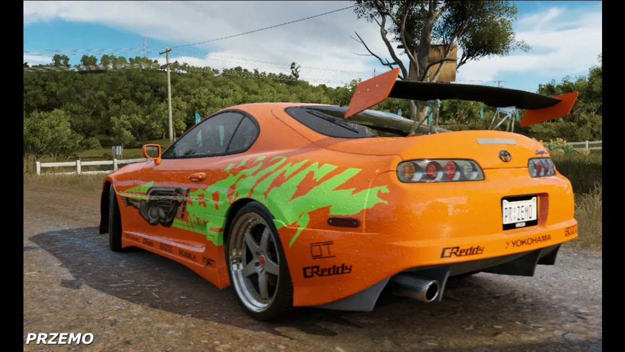 Toyota Supra From The Fast And The Furious Forza Horizon 3 Toyota Supra Fast Furious Pc