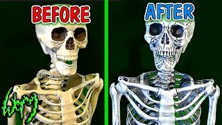 How to Make a Realistic Skeleton - Monster Mod