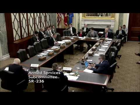Ernst Questions Lt. General Bednarek and Maj. General Scales on US Military Small Arms, Round 1