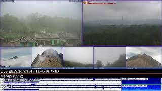 26/8/2019 - Mt Merapi TimeLapse