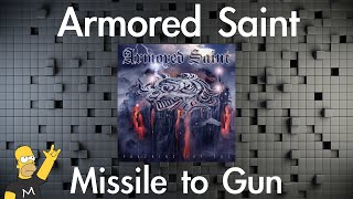 Armored Saint - Missile to Gun (Guitar Cover)