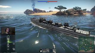 War Thunder - Okręty - R-130, R-301, S-100 (1945) - transmisja na żywo 29.10.2018.