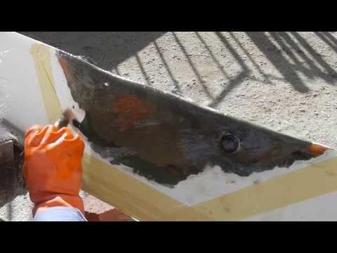 MacGregor Venture 21 Keel Repair