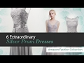6 Extraordinary Silver Prom Dresses Amazon Fashion Collection