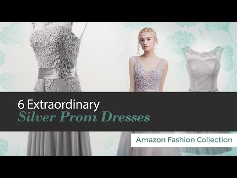 6 Extraordinary Silver Prom Dresses Amazon Fashion Collection