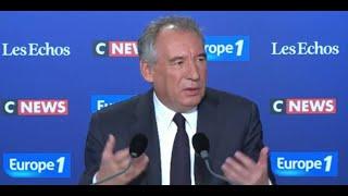Manifestations en Algérie : François Bayrou salue des manifestations