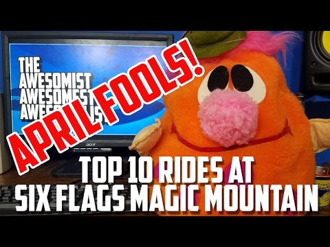 Top 10 Rides at Six Flags Magic Mountain. - Awesome List