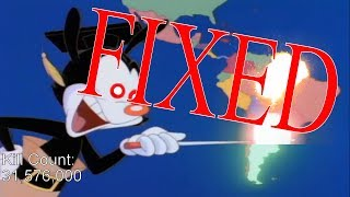 "A month ago, I made a video entitled ""Yakko's World But He Destroys..."