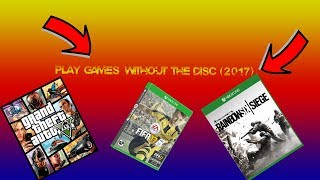 How to Play a Game without the disc!! Working as of (2018)!!!!