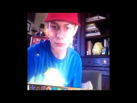 Ty Simpkins in Skype