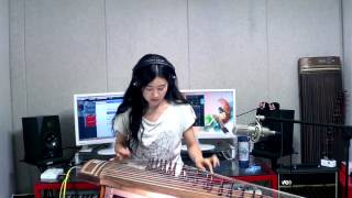Eagles-Hotel California guitar solo part Gayageum cover.