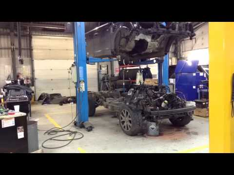 Range Rover sport engine out and strip