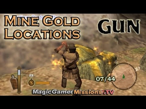 Gun ™   All Mine Gold Locations   SECRET MISSION