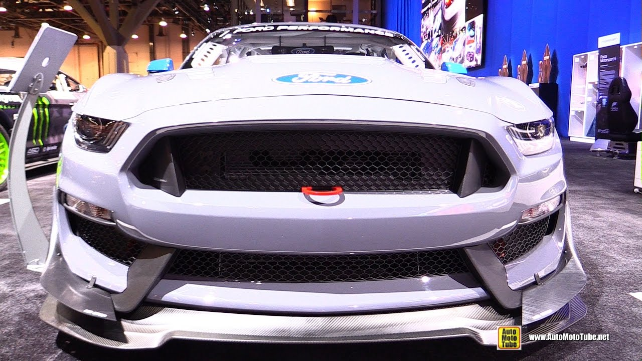 2016 Ford Mustang Gt4 Race Car Walkaround Sema 2016 Youtube