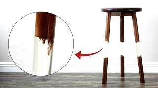 FLOATING Epoxy Stool  | 46