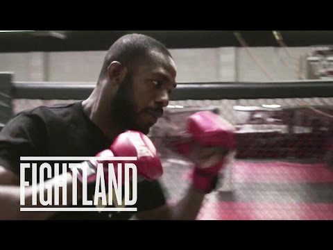 Straight Right Punch with Jon Jones: Fight School