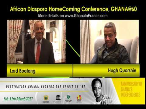 African Diaspora HomeComing Conference Ghana: 5th – 11th March 2017