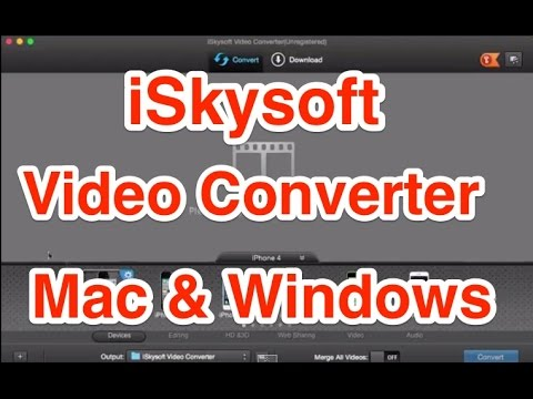 iSkysoft Video Converter for Mac Review