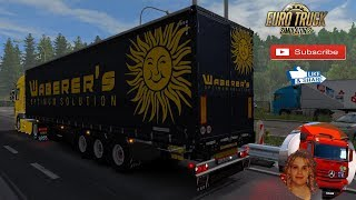Euro Truck Simulator 2 (1.34)   Schwarzmuller SPA3E Update for 1.34.xx DAF XF 105 by SCS and Schumi Exterior view reworked for DAF XF euro 6 v1.4 Germany Revisiting by SCS + DLC's & Mods https://ets2.lt/en/schwarzmuller-spa3e-update-for-1-34-xx/ https://f