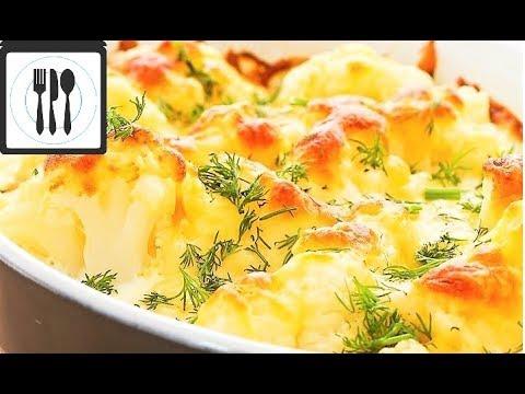 Как приготовить цветную капусту с сыром в духовке
