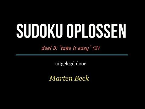 Sudoku oplossen deel 03: