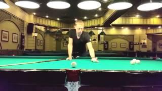 Видео-урок бильярда Урок №2 - Отработка прямых ударов