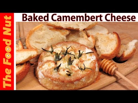 Baked Camembert Cheese Recipe With Honey - How To Bake & Serve Cheese Appetizer | The Food Nut