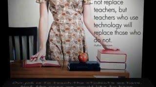 Inspirational Quotes for Teachers  - EDTC project (Melissa Gubala & Cristina Ferrer)