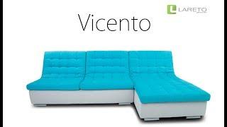 Элитный угловой диван Vicento с раскладным механизмом Пума(, 2017-05-13T13:55:28.000Z)