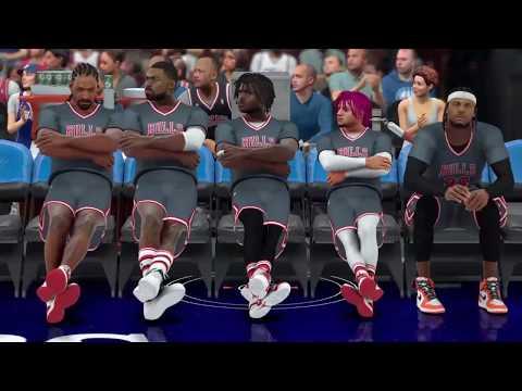 RAPPERS in NBA 2k17