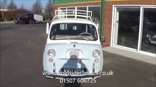 SOLD 1963 Fiat 600D Multipla 6 Seater LHD for Sale in Louth Lincolnshire