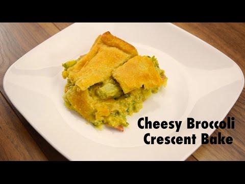 Cheesy Broccoli Crescent Bake