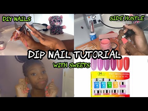 DiY Dip Nails - Make Money From Home (Start A Business) - 동영상