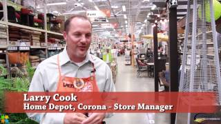 Home Depot McKinley Corona CA (951) 278-9600 Corona Chamber of Commerce Retail Award