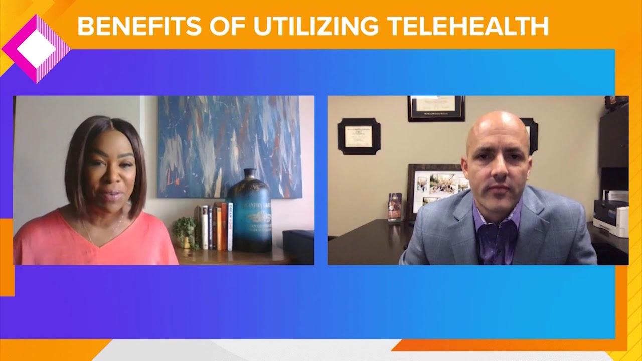 KHOU - Great Day Houston - Telehealth visits