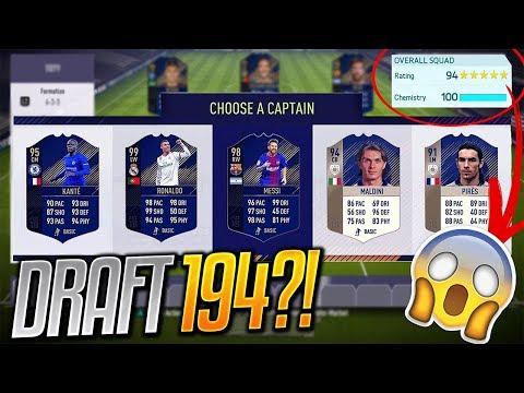 🔥😱 DRAFT 194?! 😱🔥   FIFA 18 Prawda czy Fałsz?