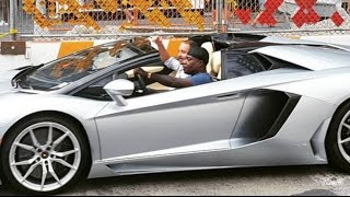 Tracy Morgan arrives at The Breakfast Club in style