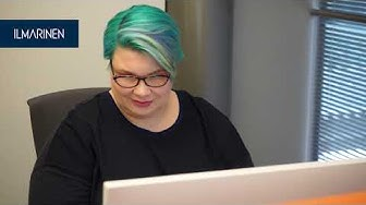 Töissä Ilmarisessa: Eläkeasiantuntija ja robottiagentti Katja
