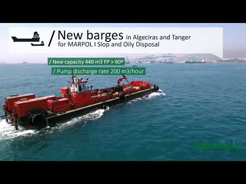 New Barges in Algeciras and Tanger for MARPOL I Slop disposal