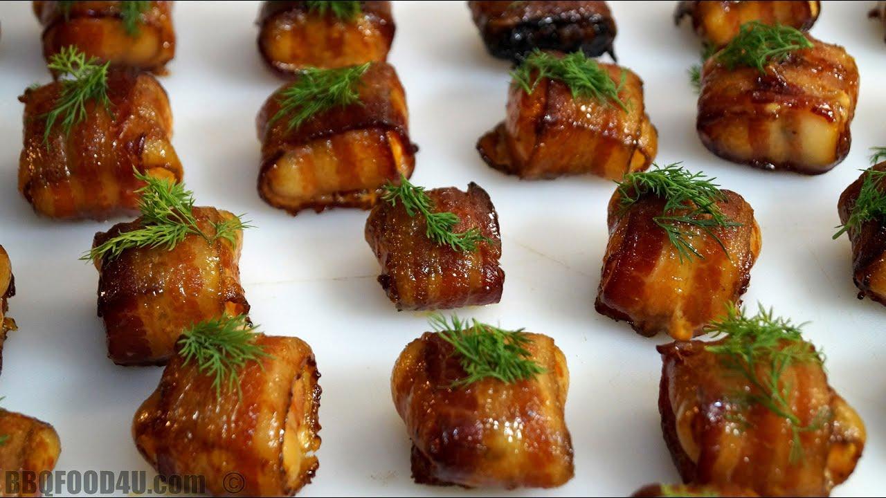 smoked bacon salmon bite recipe bbqfood4u youtube