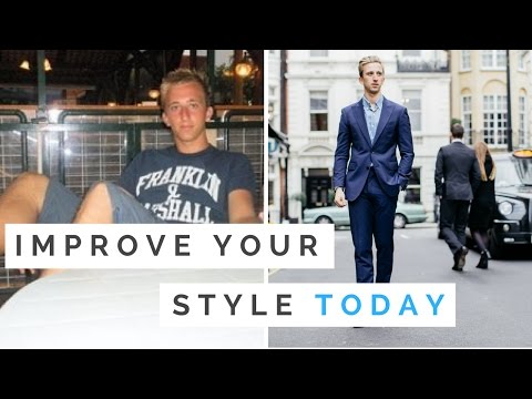 4 Men's Style Tips To Improve The Way You Dress TODAY – If I Started Again, I Would…