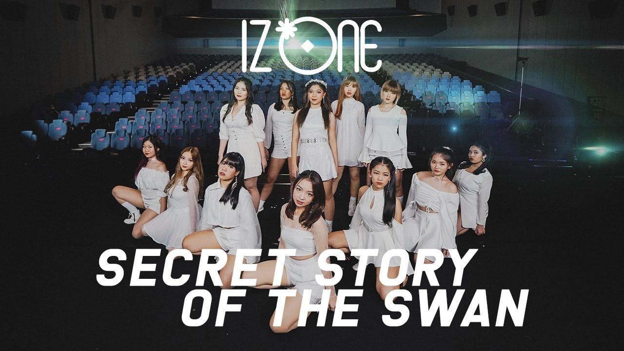 IZ*ONE (아이즈원) - Secret Story of the Swan (환상동화) DANCE COVER INDONESIA