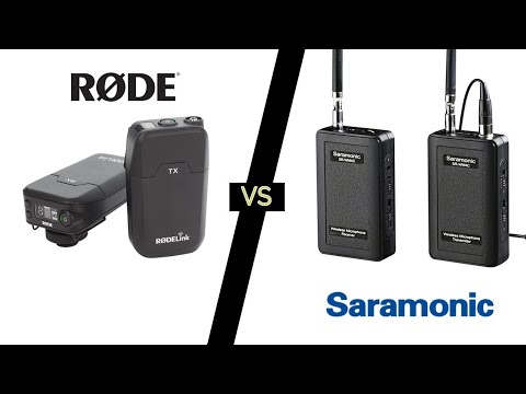 RØDE Link Wireless Lapel vs Saramonic Wireless Lapel Mic - Basic Filmmaker Ep 177
