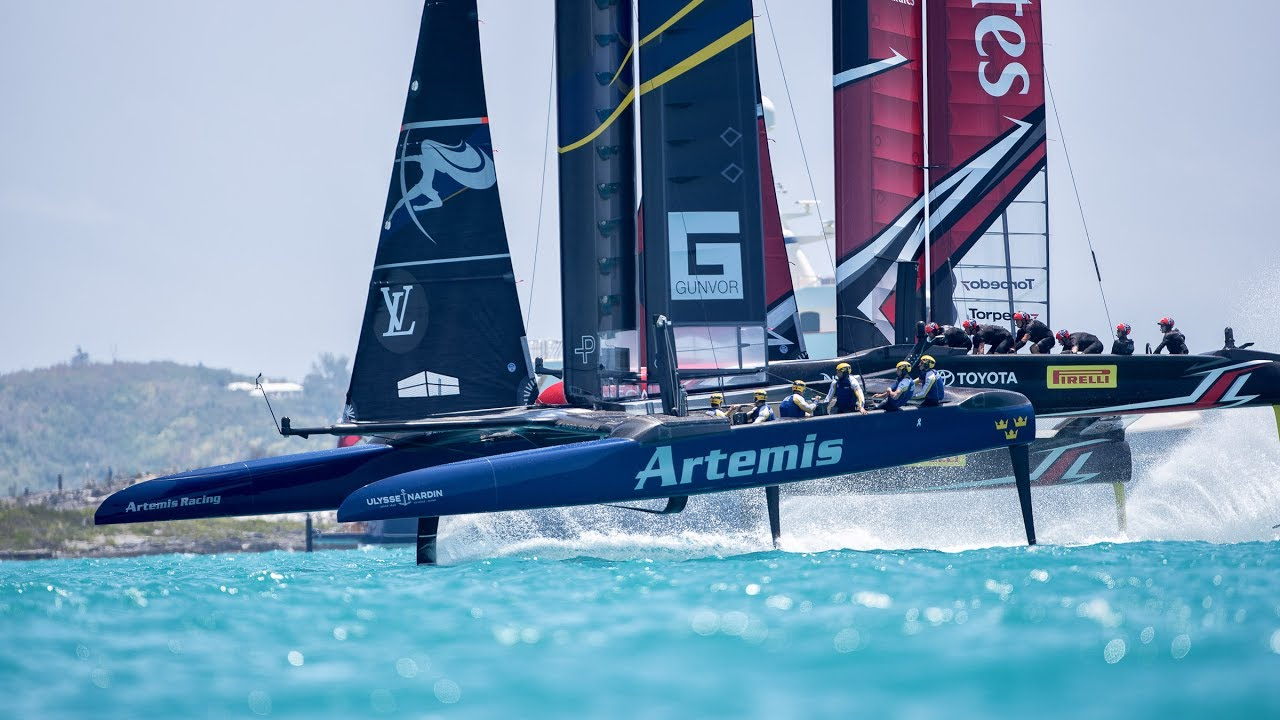 DAY 4 RACE HIGHLIGHTS - LOUIS VUITTON AMERICA'S CUP QUALIFIERS